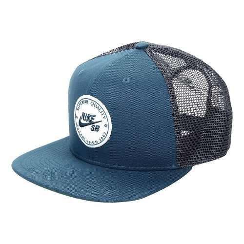 efd9e5d184fa8 Gorra Nike Sb Patch - Azul - Unisex - 925293-474 -   399.00 en ...