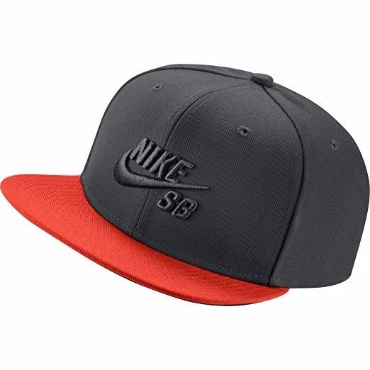 077c80efd92db Gorra Nike Sb Pro Icono Del Sombrero Del Snapback Gris -   1
