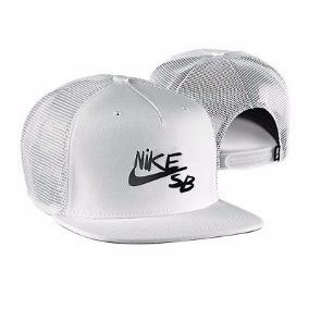 Gorra Nike Sb Trucker Reveal - Blanca - Original -   800 f54350813ca