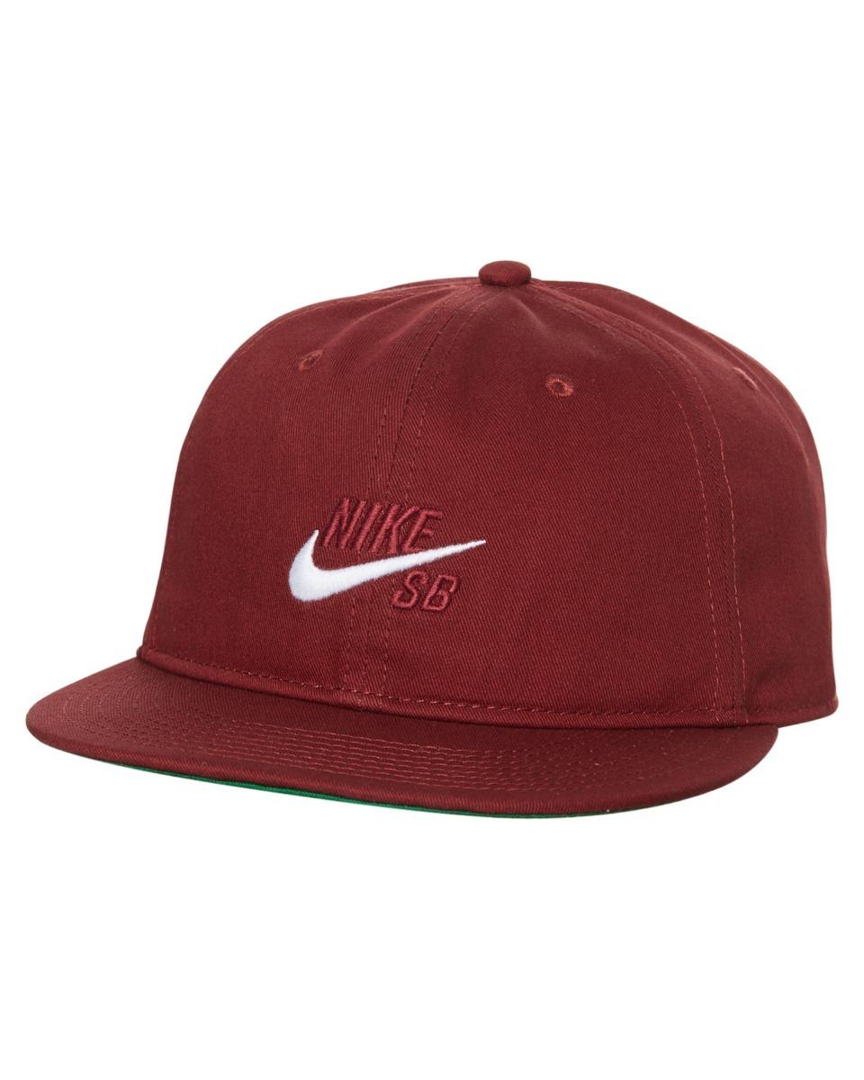 Gorra Nike Sb Visera Plana Bordo 619 Original Nuevo . -   750 125b4f64538