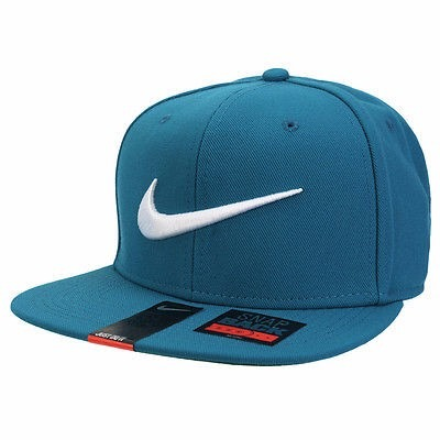 Gorra Nike Swoosh Pro Snapback Turquesa -   600 de46fa0d0c7