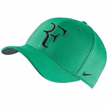 b1167e86d8d4 Gorra Nike Verde Roger Federer