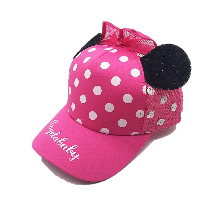 Gorra Niña Orejas Minnie Mouse Rosa Envío Gratis -   199.00 en ... 6819ef89fd1