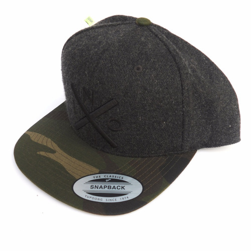 gorra nixon c2066-233-00 snapback exchange semi-deep fit