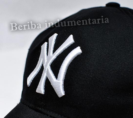 f48732b33f347 Gorra Ny New York Yankees Bordadas Ajustables -   450