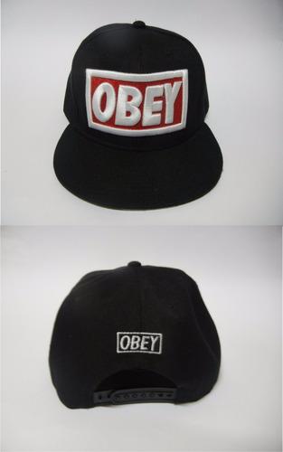 gorra obey negra 2017
