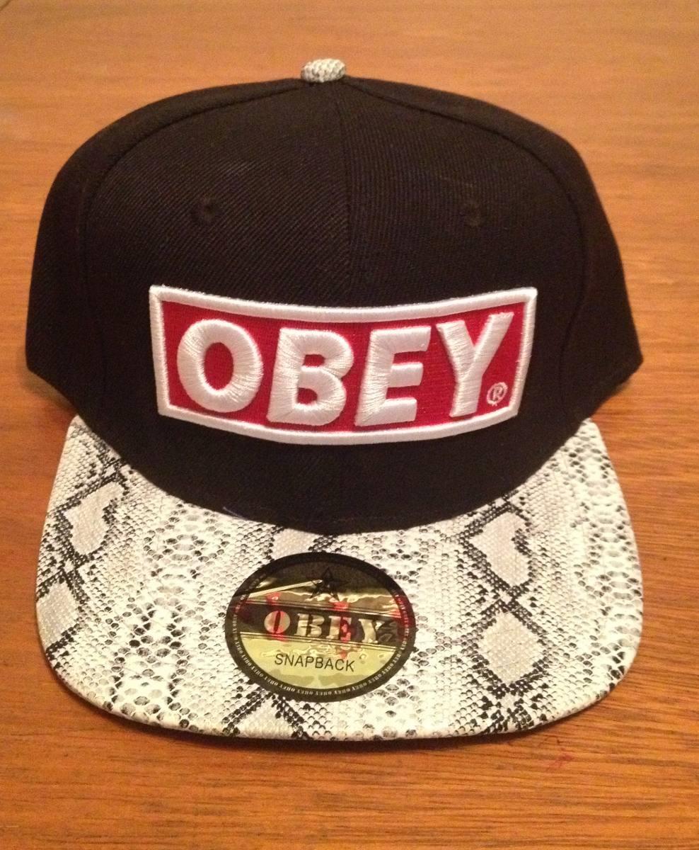 Gorra    Obey    Plana Y Regulable - Excelente Calidad -   600 4cb81624f81