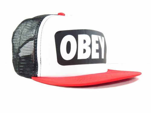 gorra obey trucker plana moda 2018 miami cap