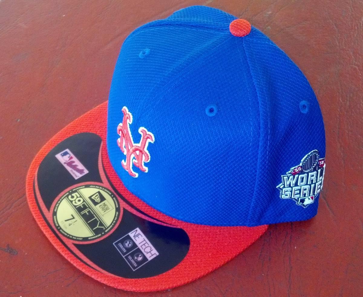 bcd4077ca28ce gorra oficial de juego mets nueva york serie mundial 2015. Cargando zoom.
