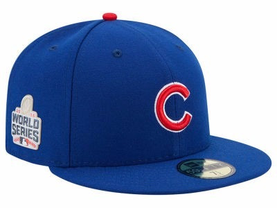 gorra oficial new era chicago cubs serie mundial 2016