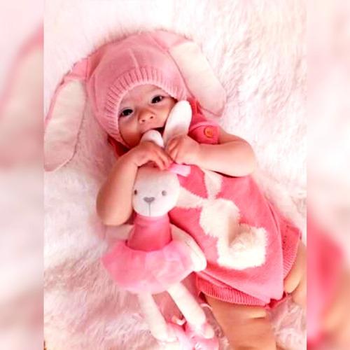 gorra oreja de conejo para bebes
