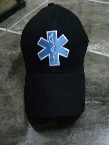 gorra original de  paramedico y  rescate