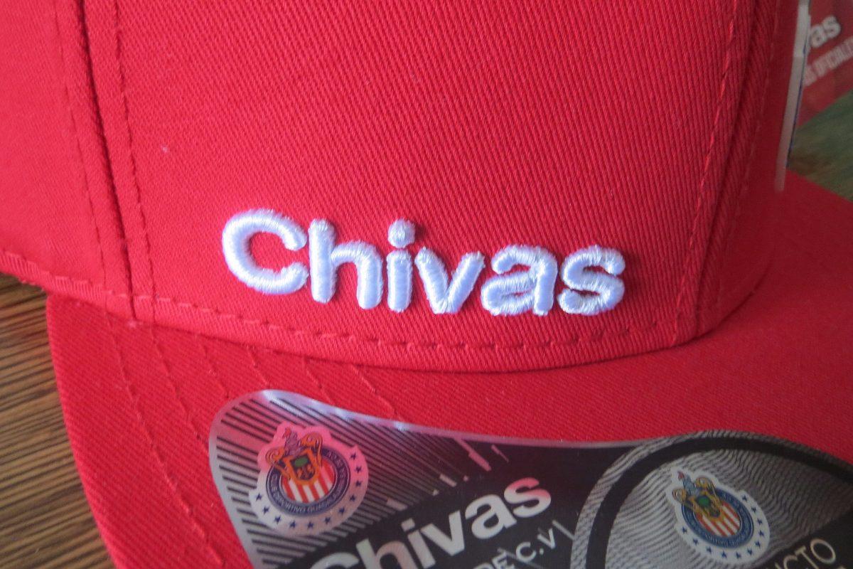 7b30cb4858551 Gorra Original - Tapa Plana Guadalajara Chivas Algodón -   350.00 en ...