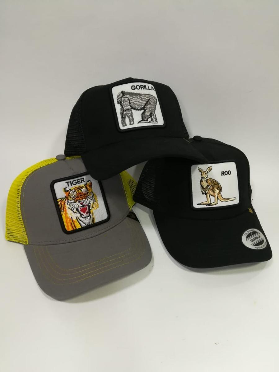 6a70124d54ae7 Gorra Para Hombre Ajustable De Estampado Animales Cachucha -   36.990 en Mercado  Libre