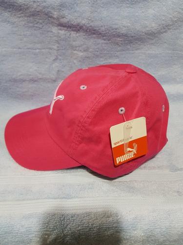 gorra para mujer rosa puma original con hebilla ajustable
