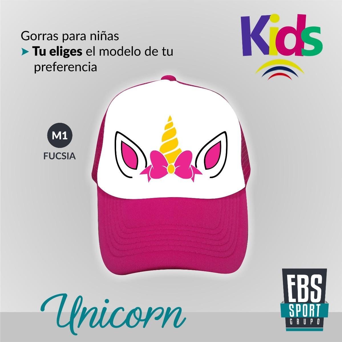 Gorra Para Niñas De Unicornio Unicorn Ajustables -   13.500 en ... 8e3a6ded6e7