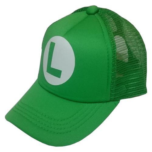 Gorra Para Niños Luigi Super Mario Bros -   25.000 en Mercado Libre bba45747676