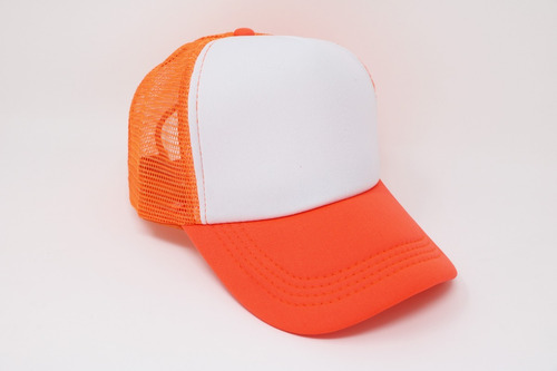 gorra para sublimar sublimación trucker trailero 10 piezas