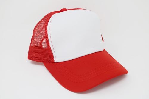 gorra para sublimar sublimación trucker trailero color make