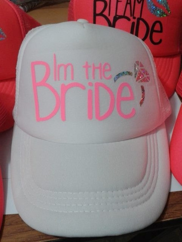 gorra personalizada para boda xv sublimada textil