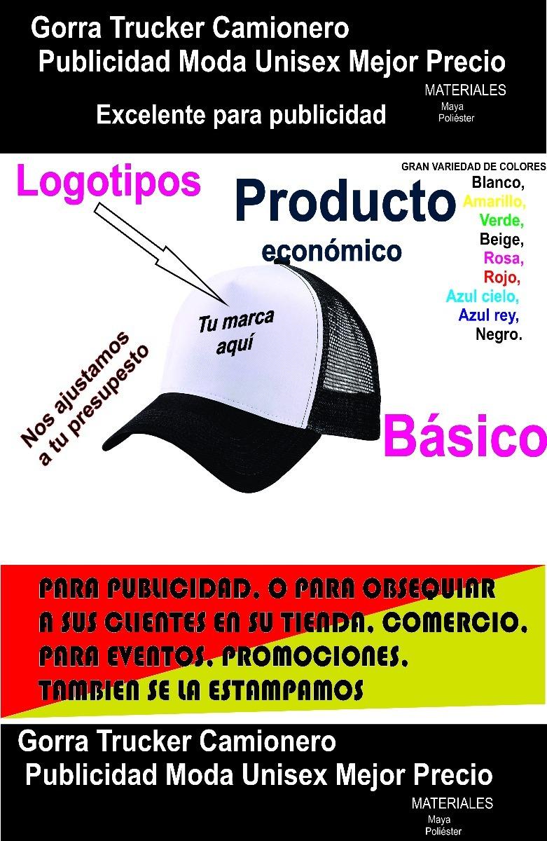Gorra Personalizada Publicidad -   31.00 en Mercado Libre f7047065fc3