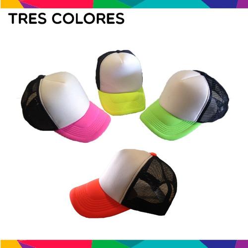 gorra personalizadas malla trucker fiestas eventos