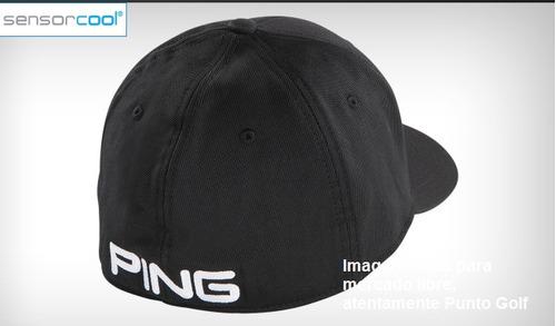 gorra ping golf 2018 gris
