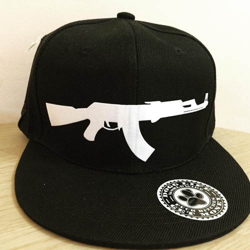 gorra plana ak47 dogg life gangsta rap hiphop old school