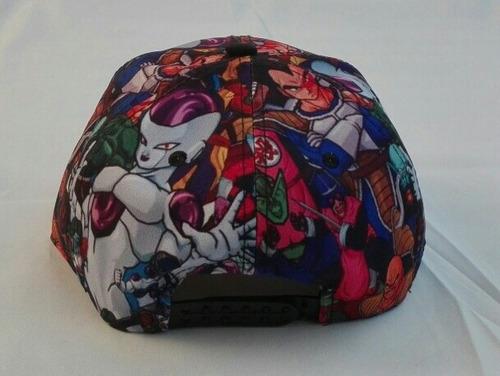 gorra  plana anime dragon ball z