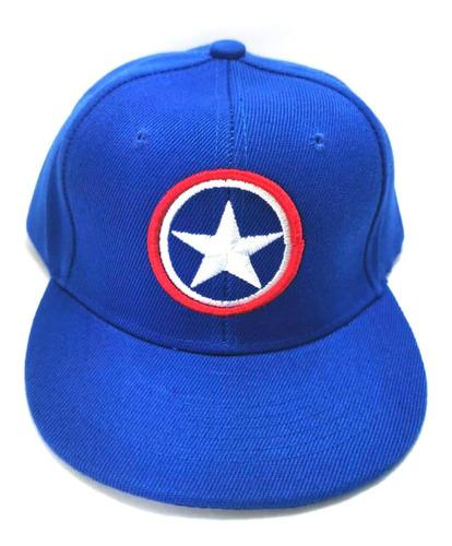 gorra plana capitan america niños avengers endgame war envío