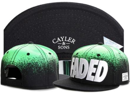 5648a2757fc Gorra Plana Cayler   Sons Faded Snapback -   650