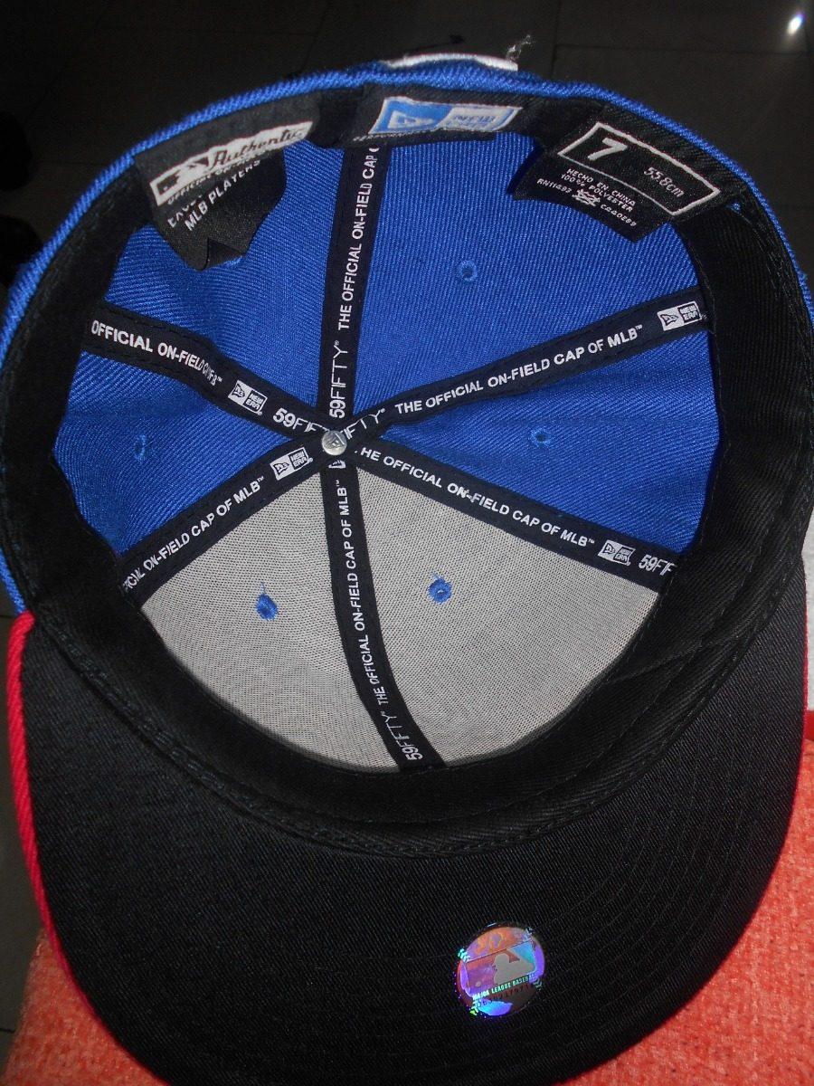 0411167a9b415 gorra plana cerrada de las grandes ligas talla 7. Cargando zoom.