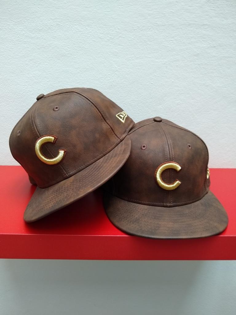 gorra plana cuero importada beisbol cubs. Cargando zoom. 24eee7a57d6