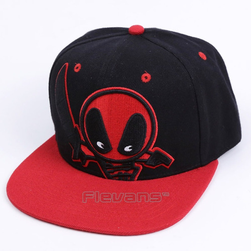 Gorra Plana Deadpool Importada - Coleccion -   39.999 en Mercado Libre 9c406c52f10