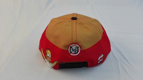 gorra plana duff man homero los simpsons