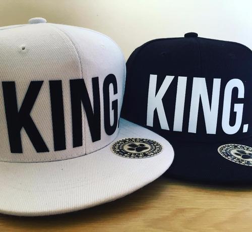gorra plana hip hop swag king queen dogg life