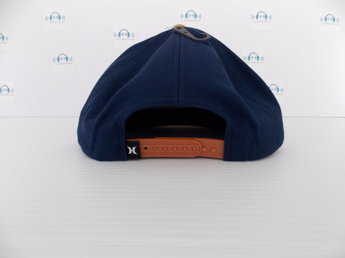gorra plana hurley one and only snapback 100% original