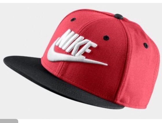 1b3c7f68cf0e7 Gorra Plana Nike Rojo Ajustable Unitalla Original 100% -   359.00 en ...
