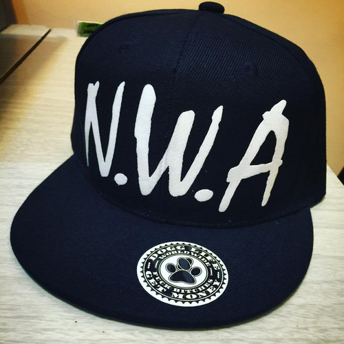 gorra plana n.w.a dogg life hip hop gangsta rap west side