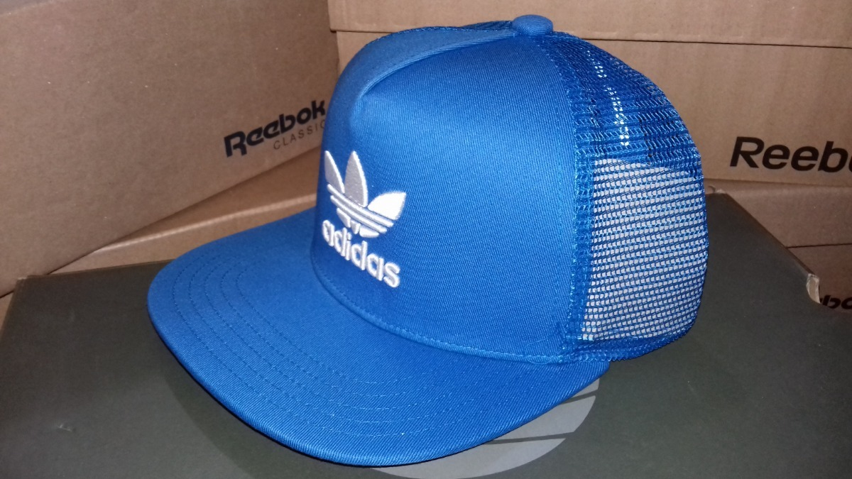 gorra plana snapback (ajustable) adidas originals azul nueva. Cargando zoom. 9233383ce04