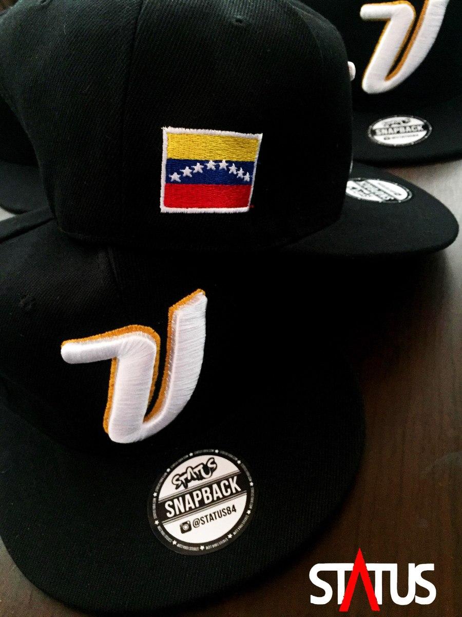 gorra plana venezuela baseball negra. Cargando zoom. e47db22313f