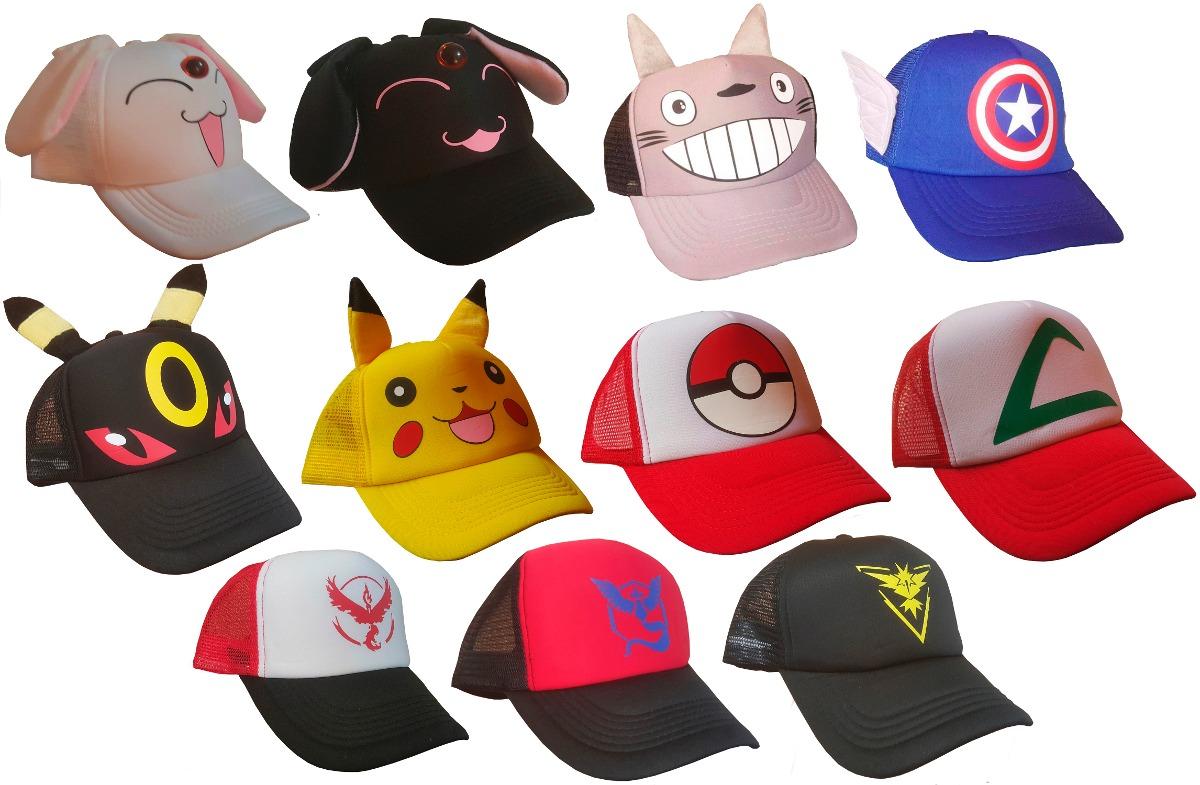 Gorra Pokemon Ash -   120.00 en Mercado Libre b33e7f79209