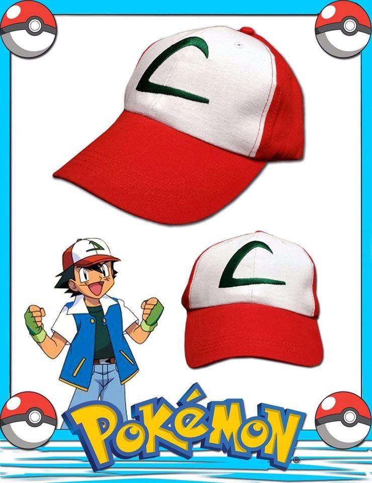 gorra pokemon ash ketchum 1ra generacion coccole kids. Cargando zoom. 5efca6443dc