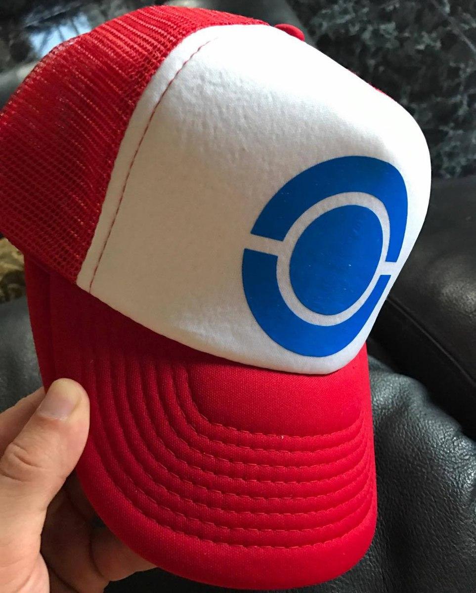 Gorra Pokemon Ash Ketchum Envío Gratis!! -   179.00 en Mercado Libre 73c6f8a05ff