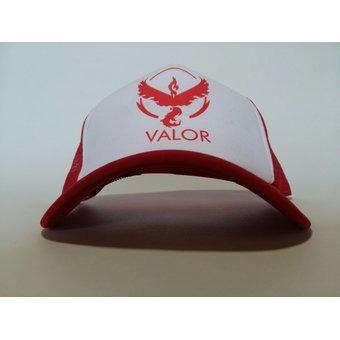 Gorra Pokemon Go Equipo Valor Team Rojo Cap Hat Cachucha -   48.986 ... 4d63370f17f