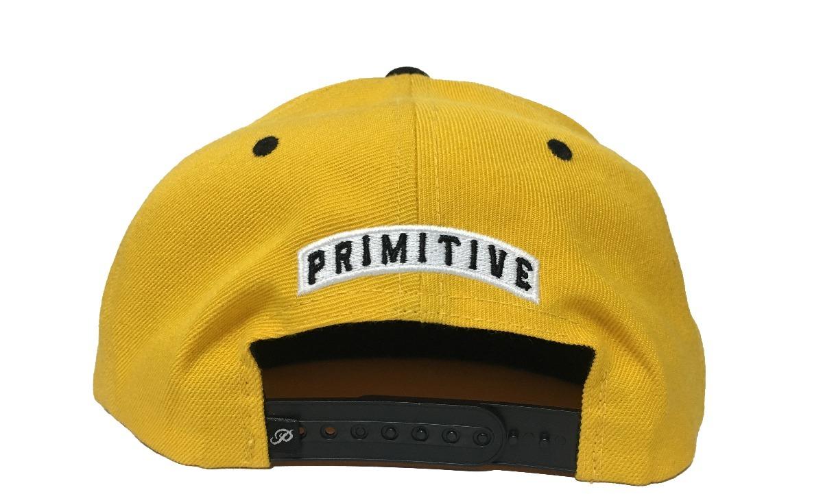 Gorra Primitive Alpha P Snapback Yellow -   650.00 en Mercado Libre 0f0fe429576