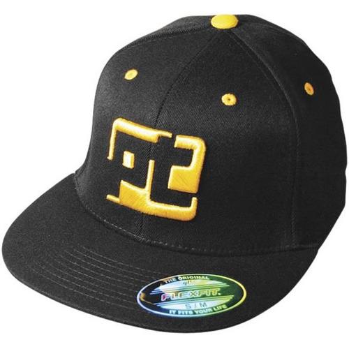 gorra protaper logotipo flexfit negro sm/md