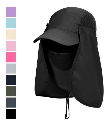 gorra protección solar / táctica / supervivencia / camping