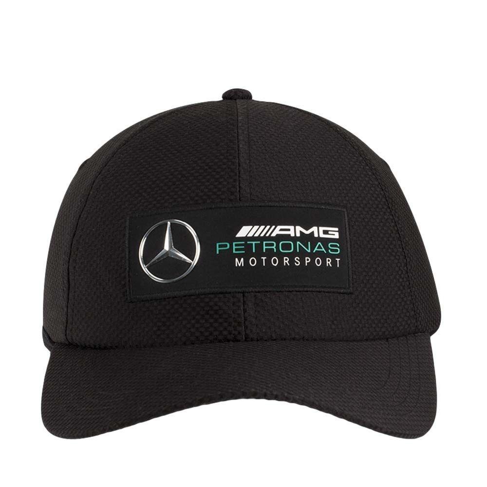 Mercedes AMG Petronas F1 Lewis Hamilton F Brim Gorra Negro Oficial 2019