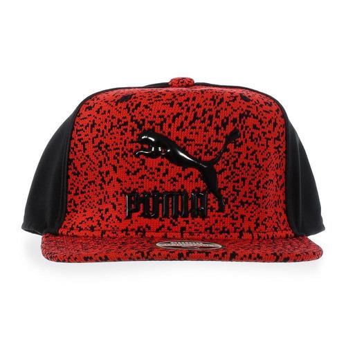 gorra puma new ls deluxe - 02117103 - rojo - unisex